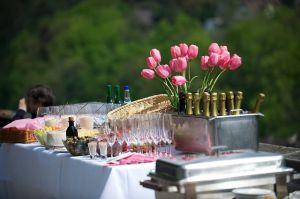 ristorante tavolo all'aperto