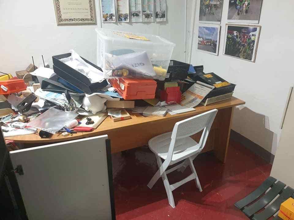 Furto negli uffici di Anpana in via Mastacchi