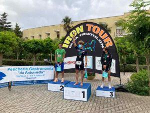 Elba Iron Tour Road, Chané pronto all'enplein podio maschile