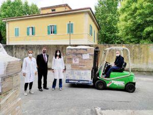 Ospedale, dagli Stati Uniti nuova donazione di dispositivi di protezione