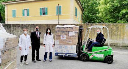Ospedale, dagli Stati Uniti nuova donazione di dispositivi di protezione (5)