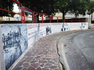 Piazza XI Maggio ritorna allo splendore grazie alla Brigata Bartelloni e agli abitanti del quartiere