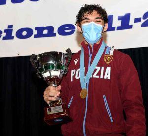 Pietro Torre vince il titolo italiano di sciabola under 20