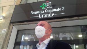 Salvetti inaugura la farmacia comunale n°8
