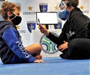 Visual Training sportivo per i giovani atleti di Asd Esercito