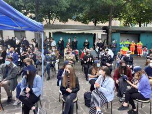 n piazza Garibaldi gli studenti ricordano la strage di Capaci