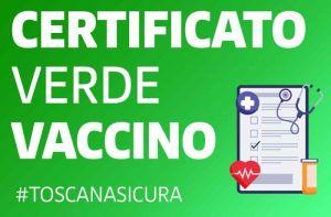 vaccino certificato verde