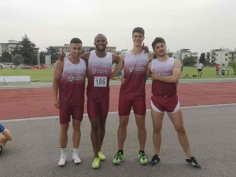 4 x 100 maschile, Atletica Libertas Runners