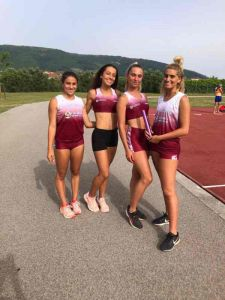4x100 femminile, Atletica Libertas Runners