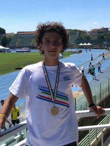 Davide Finocchietti dell' Atletica Libertas Unicusano Livorno