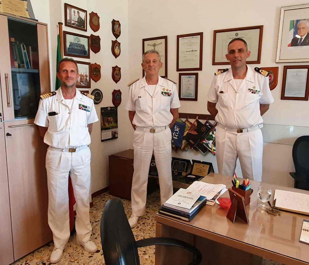Elba, il Comandante Generale del Corpo delle Capitanerie di Porto visita gli Uffici della Guardia Costiera