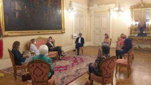 Foto visita Sottosegretario Bergamini