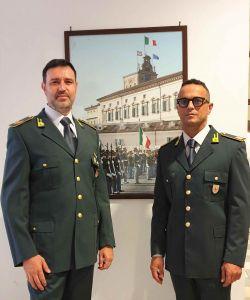 Mar. A. BOTTA Claudio - V.Brig. ARDITO Guglielmo in forza al Nucleo PEF di Livorno