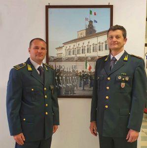 Mar.A. IESSE Andrea - Mar.C. SCHETTINO Gennaro in forza al Nucleo PEF di Livorno