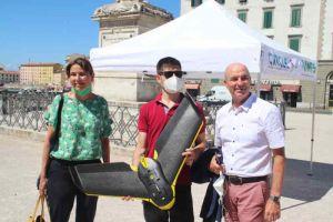 Presentato il drone che andrà a caccia di amianto