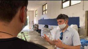 Tecnici Aamps in visita in Gorgona, Rossi Plastica eliminata, icrementare differenziata