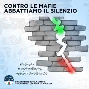 contro le mafie abbattiamo il muro del silenzio