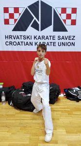 𝐊arate1 Youth League, un buon 7° posto per l'atleta livornese Jacopo Citi