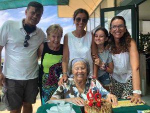 Anna Maria Benedetti compie 100 anni