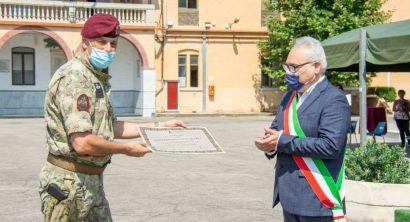 FOTO 3 cittadinanza onoraria del Comune di Rosignano al 185° RRAO