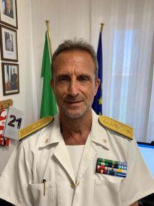 Gaetano Angora IDirettore Marittimo Della Toscana promosso Contrammiraglio