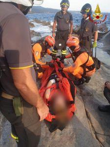 25enne soccorso al Sassoscritto, interviene l'elicottero