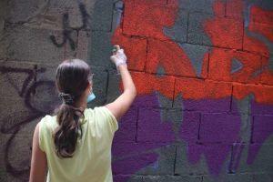 La Street Art si fa in via Goito, c'è il muro legale