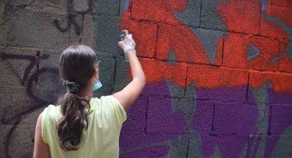 La Street Art si fa in via Goito, c'è il muro legale (4)