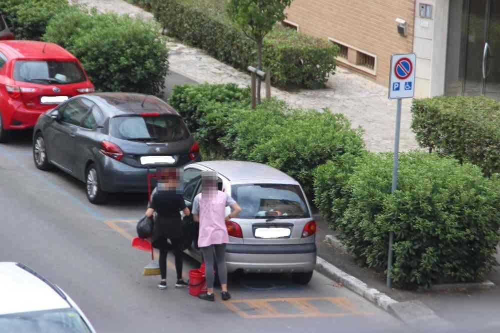 Pulizie condominiali, ecco i parcheggi riservati in città