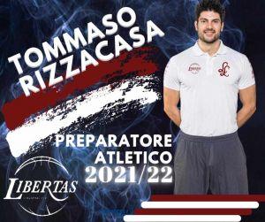 Rizzacasa è il nuovo preparatore atletico della Libertas