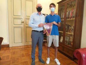 Salvetti incontra uno studente del Cecioni di ritorno da una esperienza ad Hong Kong