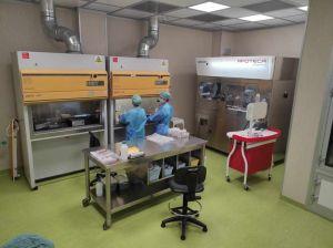 laboratorio per i farmaci antitumorali