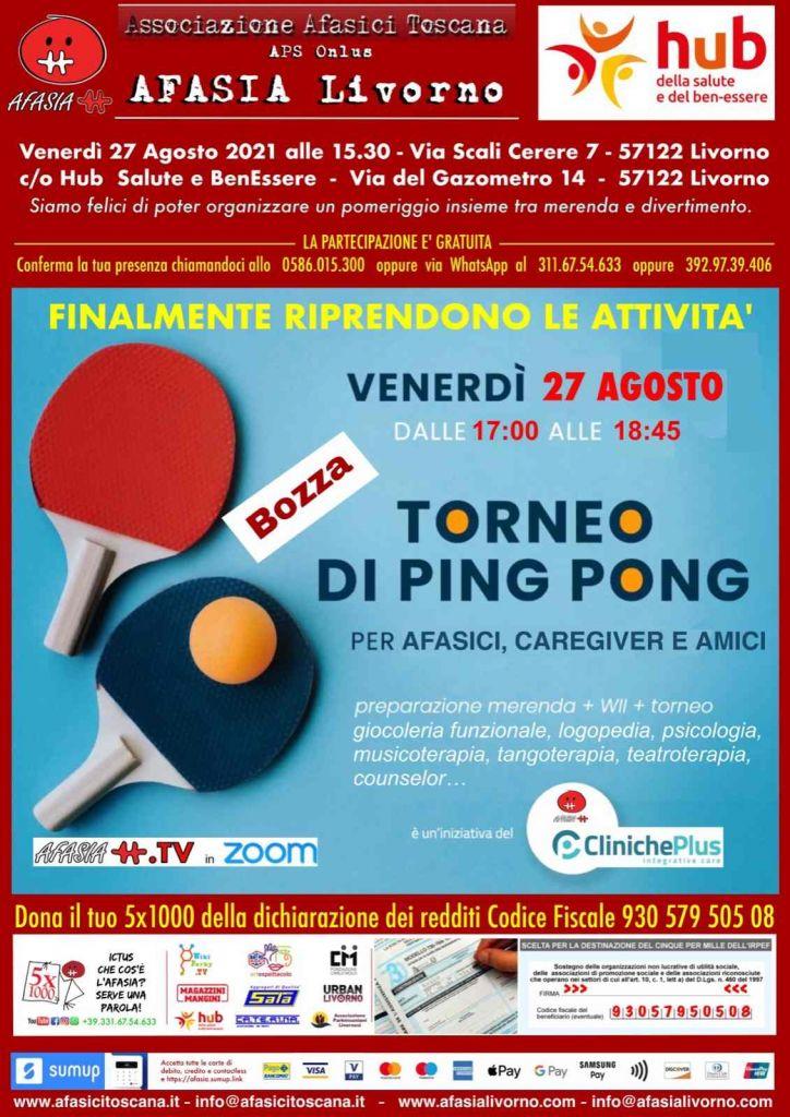 Afasia Torneo di Ping Pong
