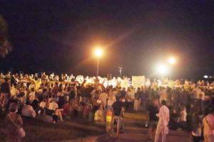 Folla alla Terrazza Mascagni per Erich Grimaldi