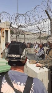I carabinieri del Tuscania a Kabul per l'evaquazione