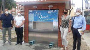 Piazza 2 Giugno, inaugurata nuova fontanella acqua di alta qualità