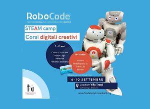 Robotica e creatività per ragazzi e adulti. A Villa Trossi nasce il primo Summer Camp toscano