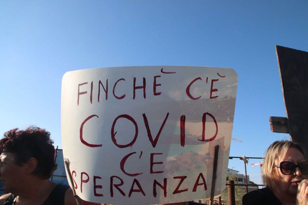 Speranza Contestato Livorno dai no green pass