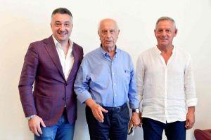 Ufficiale, US Livorno presenta l'allenatore Buglio e il ds Pinzani