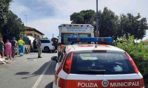 incidente castellaccio auto contro muro