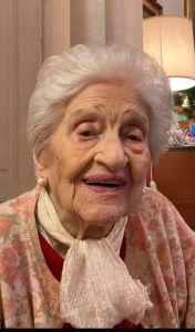 Oggi Leonetta Spagnoli spegne 106 candeline