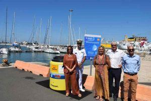 postazione raccolta olio esausto da cucina in porto inaugurazione