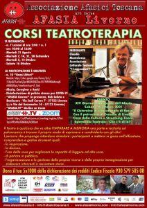 Afasia organizza il corso gratuito di Teatroterapia con spettacolo finale