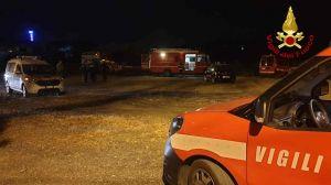 vigili del fuoco ricerca scomparso