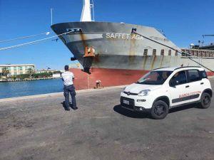 """""""Nave da carico battente bandiera Barbados fermata dalla guardia costiera per gravi carenze"""""""