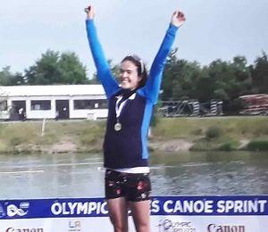 Canoa: E' oro per Sara Del Gratta agli Olimpic Hope