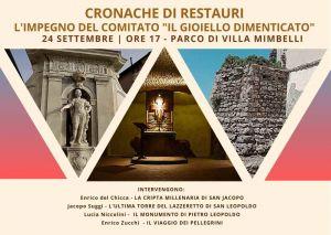 Il comitato Il Gioiello Dimenticato presenta a villa Mimbelli le cronache dei suoi restauri