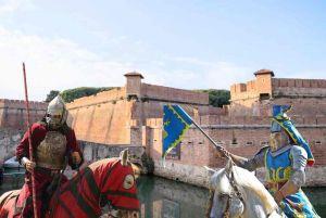 Cavalli e cavalieri, combattimenti e sfide. Tre giorni di medioevo in Fortezza Nuova