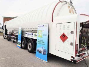 Gnl, fonte accessibile per una logistica efficiente concluso il demo day all'Interporto Vespucci