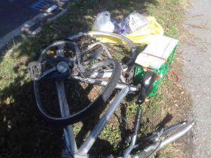 Investito ciclista 65enne sul viale Boccaccio, finisce sul parabrezza dell'auto
